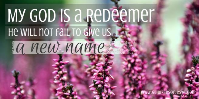 Redeemer God
