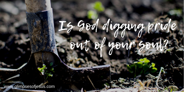 Is God digging pride out of your soul_